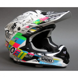 kask VFX-W SHOEI kolor KRACK TC-10